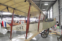 N1282 @ 4S2 - 1917 Curtiss JN4D  at Western Antique Aeroplane & Automobile Museum at Hood River, Oregon