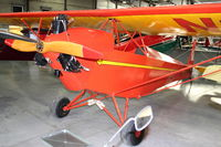 N595Y @ 4S2 - at Western Antique Aeroplane and Automobile Museum at Hood River, Oregon