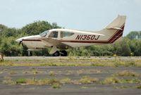N1350J @ EGFH - Visiting Rockwell Commander. - by Roger Winser