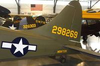 N58726 @ 4S2 - ex 42-98629 Stinson L-5 At Western Antique Aeroplane & Automobile Museum in Hood River , Oregon