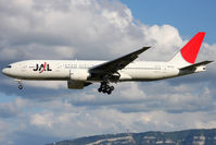 JA710J @ LSGG - Charter summer flight to Tokyo, landing in 05