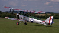 G-AHSA @ EGTH - 1. K3241 at Shuttleworth Sunset Air Display, July 2012 - by Eric.Fishwick