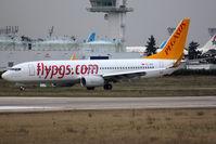 TC-AIS @ LFPO - Taxiing after landing