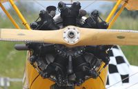 G-OBEE @ EGSV - CONTINENTAL MOTORS CORP W-670-6N  fitted to G-OBEE