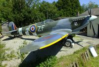 BAPC268 @ EGDG - Seen at Spitfire Corner. - by Derek Flewin