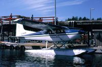 C-GHZR - C-GHZR - Tofino Airlines Cessna 180J floatplane, at Tofino harbour, BC - by Malcolm Smith