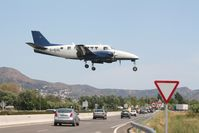 D-IEXE @ LEAP - Landing at LEAP (Ampuria Brava) after delevering skydivers at 12500ft. - by Mabogey