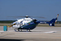 N911TB @ FTW - Teddy Bear One - Cook Children's Hospital Helicopter