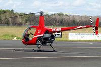 VH-HUA @ YCDR - Robinson R-22 Beta 2 [3973] Caloundra~VH 19/03/2007. Seen here at Caloundra~VH.