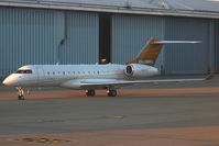N381GX @ LSGG - Parked