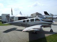 N36EU @ EDDB - Beechcraft G36 Bonanza at ILA 2010, Berlin
