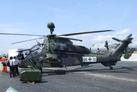 98 10 @ EDDB - Eurocopter EC665 Tiger of the Heeresflieger (German Army Aviation) at ILA 2010, Berlin