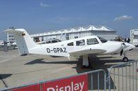 D-GPAZ @ EDDB - Piper PA-44-180 Seminole at ILA 2010, Berlin