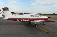 C-FRRE @ KAXN - Piper PA-28-140 Cherokee on the line. - by Kreg Anderson