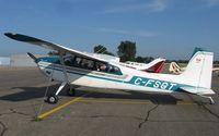 C-FSGT @ KAXN - Cessna 180H Skywagon on the line. - by Kreg Anderson
