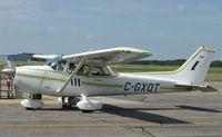 C-GXQT @ KAXN - Cessna 172N Skyhawk on the ramp. - by Kreg Anderson