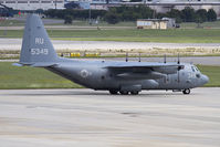 165349 @ NGU - US Navy Lockheed C-130T Hercules 165349 parked on the cargo ramp at Chambers Field. - by Dean Heald
