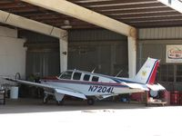 N7204L @ CCB - Parked in Foothill Aircraft Sales & Service work bay