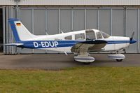 D-EDUP @ EDTF - D-EDUP parked in front of her hangar at QFB airfield - by Thomas Spitzner