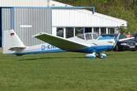 D-KNAT @ EDTF - Parked in front of it's hangar at QFB - by Thomas Spitzner