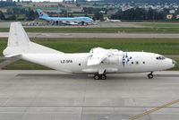 LZ-SFA @ LSZH - Air Sofia LZ-SFA passing Dock B while taxiing in all white c/s. Huge bird! :-) - by Thomas Spitzner