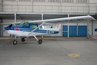 D-ETCR @ EDTL - Parked in a former miltary mauntenance hangar at Black Forest Airport Lahr / Germany - by Thomas Spitzner