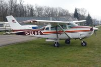 D-ELAG @ EDTF - Parked at QFB airfield, used for transport of sky divers. - by Thomas Spitzner