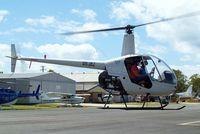VH-JKJ @ YCDR - Robinson R-22 Beta [1012] Caloundra~VH 19/03/2007. Taxiing out for departure.