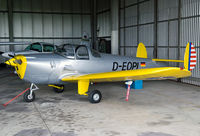 D-EOPI @ EDFV - parked in it's hangar at EDFV airfield - by Thomas Spitzner