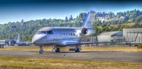 N23SB @ KBFI - Just landed. Took some people out for a little day trip - by Danny King HDR Pic