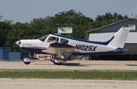 N1025X @ KOSH - Piper PA-28-140 - by Mark Pasqualino