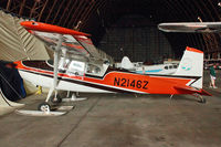 N2146Z @ TMK - First light aircraft to land at the North Pole - preserved At Tillamook Air Museum , Oregon