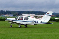 D-EAFS @ EDMT - Seen here at Tannheim~D - by Ray Barber