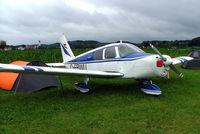 D-EBWU @ EDMT - D-EBWU   Piper PA-28-140 Cherokee [28-20377] Tannheim~D 18/07/2009 - by Ray Barber