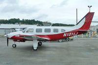 N101LJ @ RNT - 1968 Piper PA-31-310, c/n: 31-267 - by Terry Fletcher