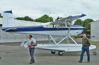N1022F @ RNT - 1975 Cessna A185F, c/n: 18502690 - by Terry Fletcher
