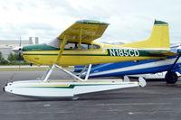 N185CD @ RNT - 1974 Cessna A185F, c/n: 18502428