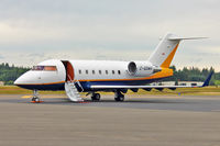 C-GGWH @ OLM - 1998 Canadair CL-600-2B16 Challenger 604, c/n: 5371 - by Terry Fletcher