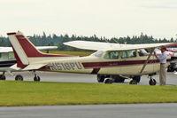 N518PU @ OLM - 1983 Cessna 172RG, c/n: 172RG1135