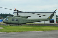 UNKNOWN @ WN70 - Preserved Helicopter with Northwest Helicopters at Olympia WA - unmarked except for ROYAL HAWAIIAN AIR FORCE titles - by Terry Fletcher