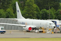 N521DS @ RNT - Indian Navy Boeing 737 Serial 321 at Renton - being prepared for the Indian Navy