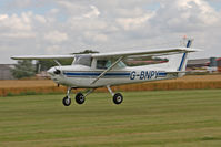 G-BNPY @ EGBR - Cessna 152 at The Real Aeroplane Club's Summer Madness Fly-In, Breighton Airfield, August 2012. - by Malcolm Clarke