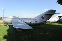 3652 @ LZNI - Mig 15 Czechoslovakian Air Force - by Dietmar Schreiber - VAP