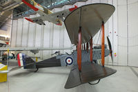 D5649 @ EGSU - First World War two-seat bomber. Formerly recovered from a stable in Bikaner, north-west India - by Chris Hall