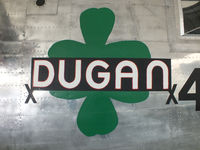 44-40593 @ EGSU - DUGAN nose art - by Chris Hall