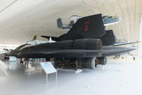 61-7962 @ EGSU - The only SR-71 on display outside the United States, displayed in the American Air Museum Duxford. - by Chris Hall