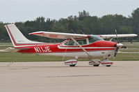 N11JE @ KDPA - Cessna 182P Skylane, N11JE on the ramp at DuPage after arriving from Middletown, Ohio/KMWO. - by Mark Kalfas