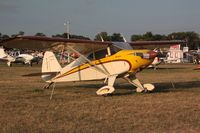 N1238C @ OSH - 1953 Piper PA-22-135, c/n: 22-1050 - by Timothy Aanerud
