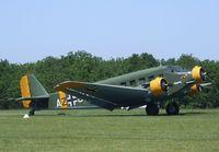 F-AZJU @ LFFQ - CASA 352L (Junkers Ju 52/3m) at the Meeting Aerien 2012, La-Ferte-Alais - by Ingo Warnecke