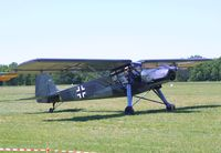 D-EVDB @ LFFQ - Fieseler Fi 156C-7 Storch at the Meeting Aerien 2012, La-Ferte-Alais - by Ingo Warnecke
